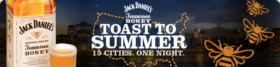 Jack Daniels Tennessee Honey: Toast To Summer Event