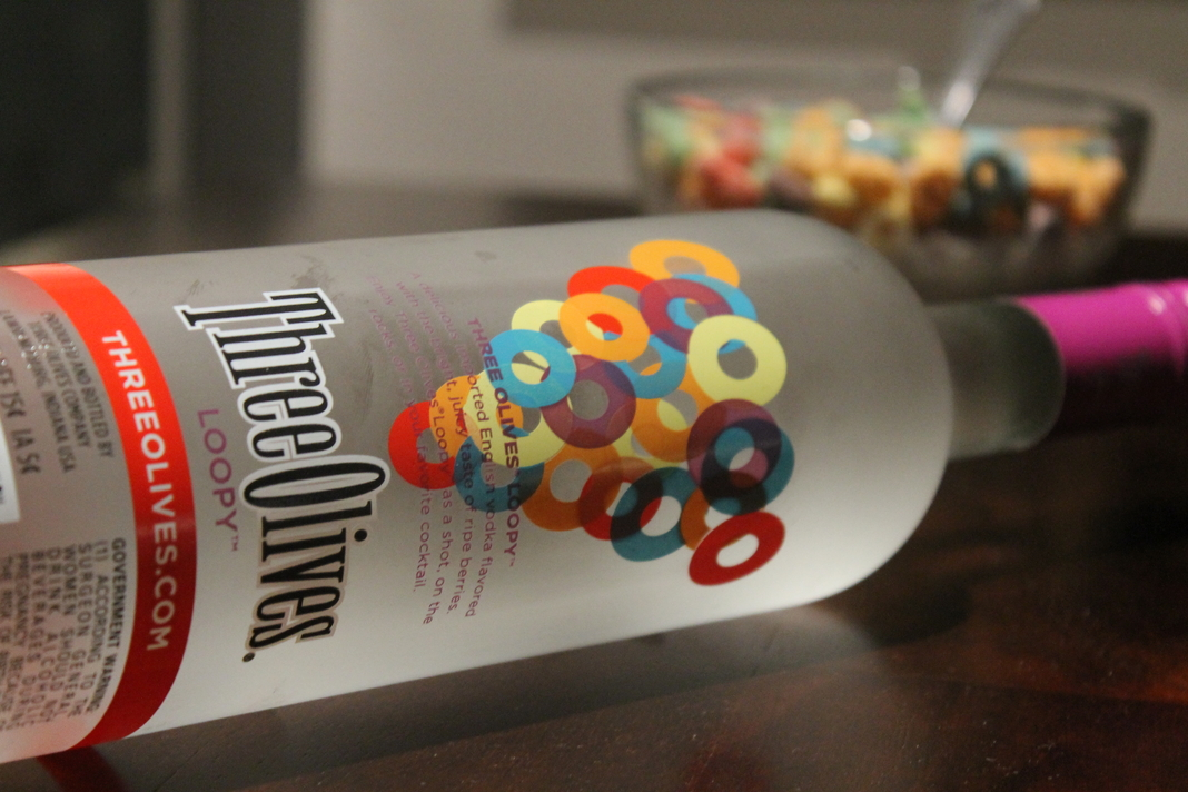 Three Olives Loopy Vodka: Bubbly Loopy Punch
