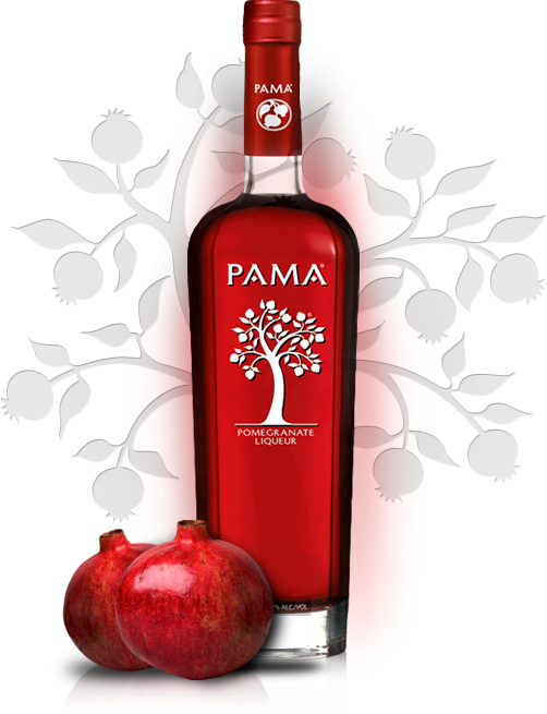 homepage bottle Pama Pomegranate Liqueur Review