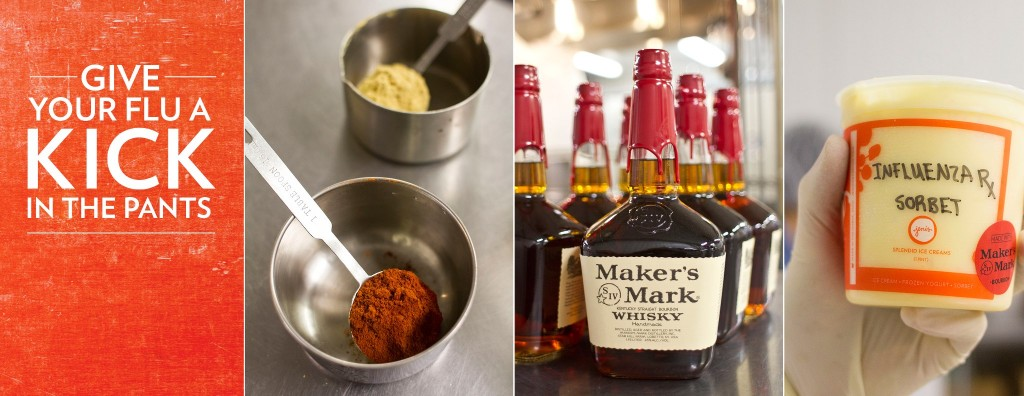 773716 10152481236220492 1863976840 o 1024x396 Influenza Sorbet Ice Cream w/ Makers Mark Whisky
