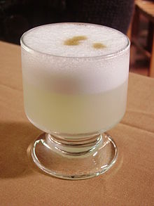 220px Pisco sour 20100613b Celebrating National Pisco Sour Day