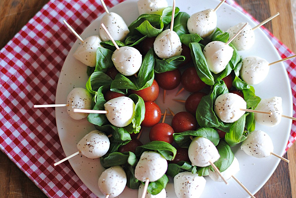 Balsamic Caprese Skewers