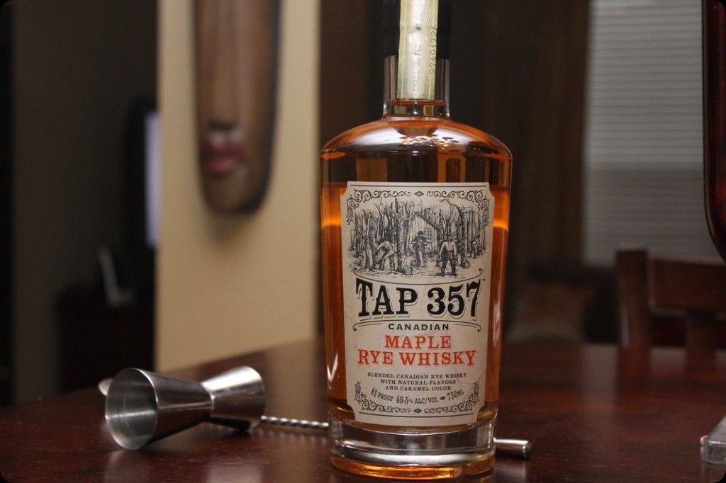 Liquid Pancakes?: Tap 357 Maple Rye Whisky Review