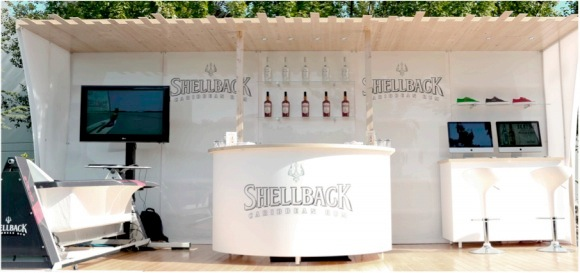 The Shellback Rum Hut at Progressive Insurance Tampa Boat Show