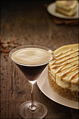 Adult Desserts: Kahlua Cheesecake