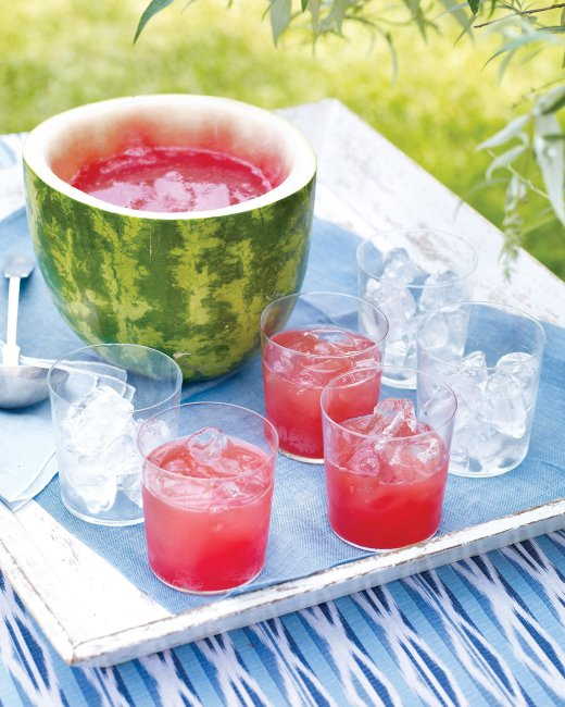 How to Make a Watermelon Punch Bowl