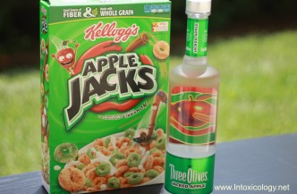 Three Olives Jacked Apple Vodka Photo Courtesy of Intoxicology.net