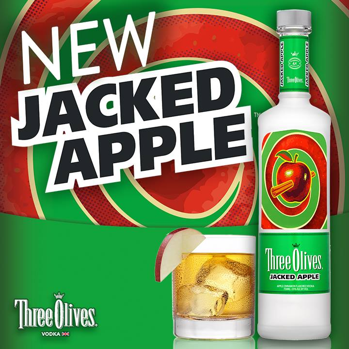Coming Soon: Three Olives Launches Jacked Apple Vodka