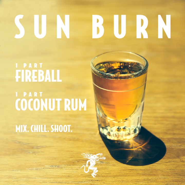 10 Awesome Fireball Shots To Try This Weekend : Cocktails