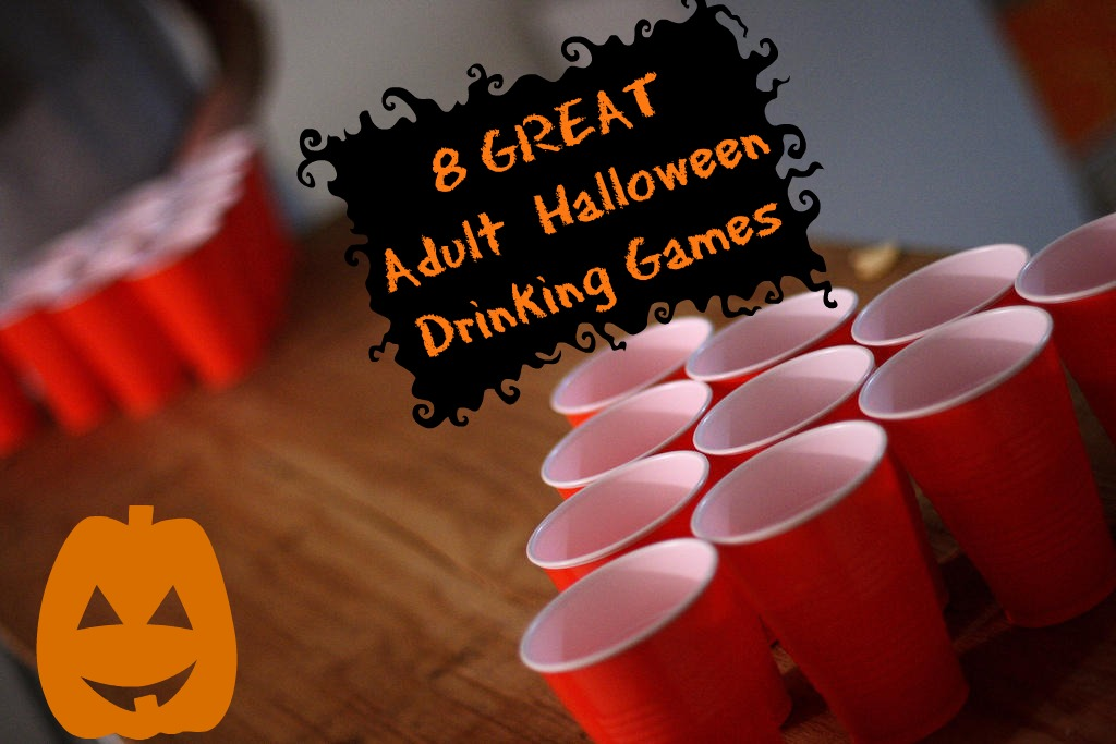 adult games halloween party