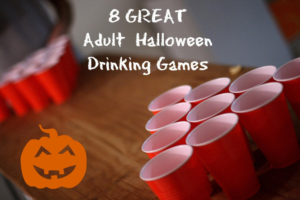 8 Awesome Halloween Drinking Games