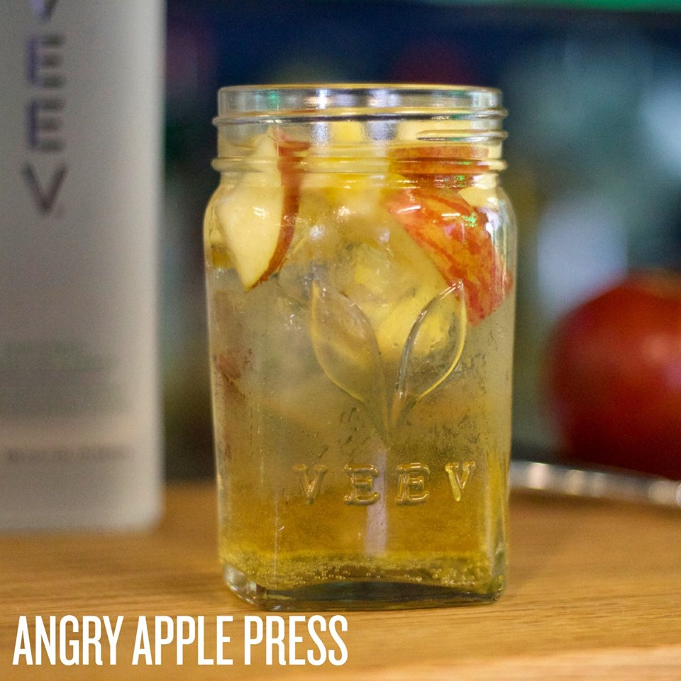 Fall Cocktail: Angry Apple Press