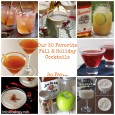 30 fall cocktails