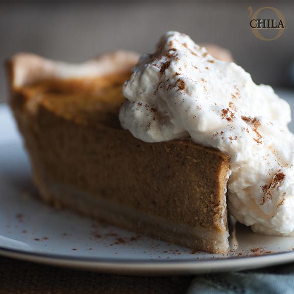 A Boozy Pumpkin Pie Recipe with Chila 'Orchata