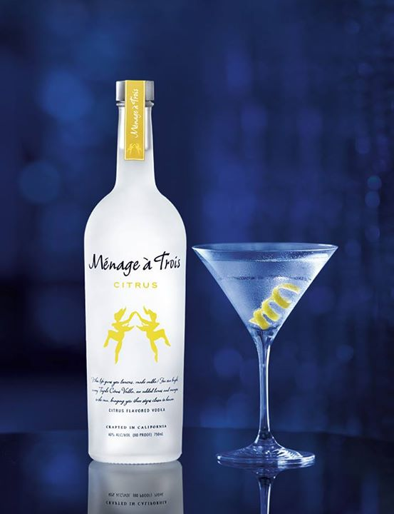 Review: Menage a Trois Citrus Vodka