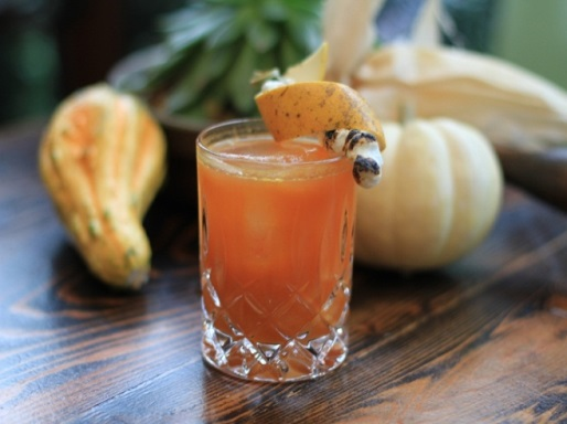 Thanksgiving Cocktails with Caliche Rum