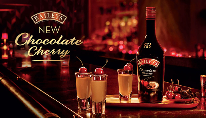 Baileys chocolate cherry