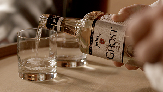 Jim Beam Jacob's Ghost White Whiskey Review