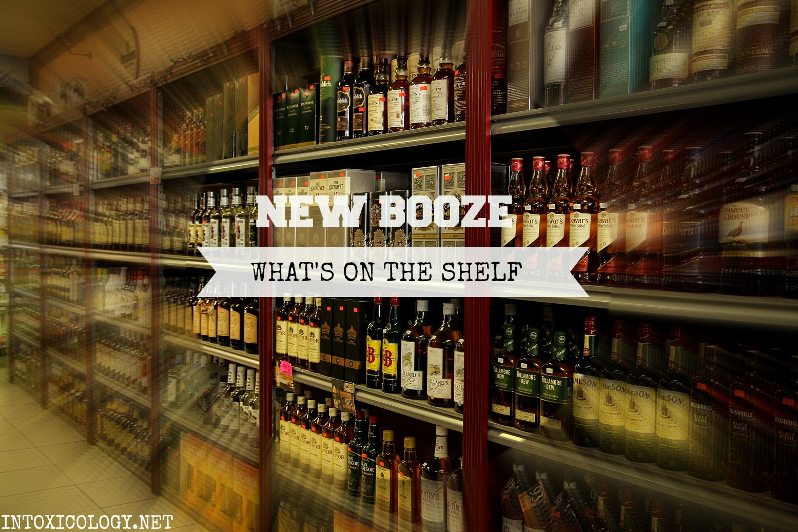 New Booze: Whiskey, Tequila, Liquers & More
