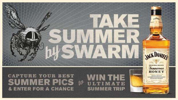 Enter The Jack Honey Summer Swarm Conest!