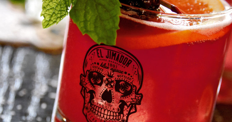 Celebrating the Day of The Dead With El Jimador Tequila