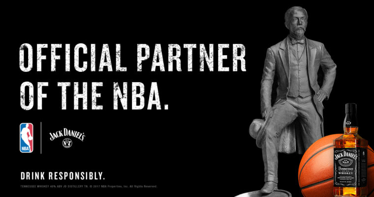 I'll Drink to That: Jack Daniels Partners with the NBA
