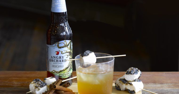 Man of the Orchard: A Hard Cider Cocktail