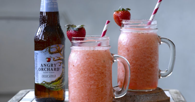 Hard Cider Slushy? Yes Please!